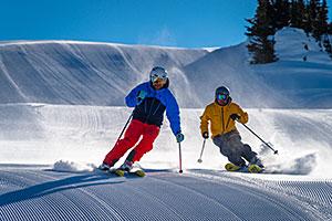 Sunshine Village Skiers