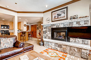 Charter Living Room Condo