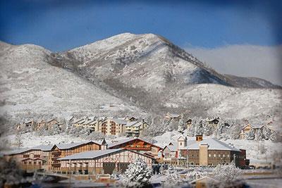 Zermatt Resort in Winter