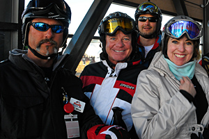 Happy Jackson Hole skiers