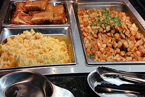 Daily Hot buffet breakfast