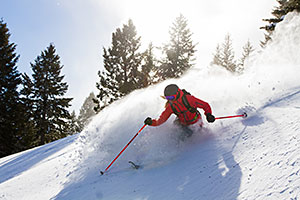 Sun Valley Powder Skiing 2014 15