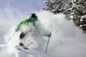 Vail Powder Skier