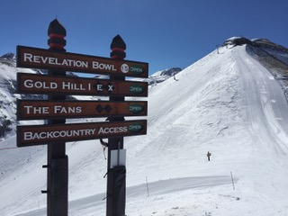 Telluride Trail Sign