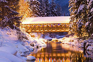 Vail Bridge at Night
