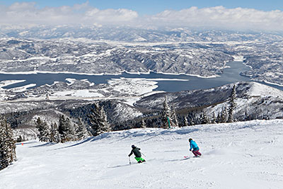 Deer Valley Scenic Skiers