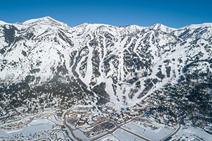 Jackson Hole Aerial