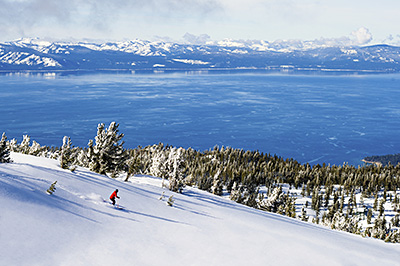View of Lake Tahoe from Heavenly