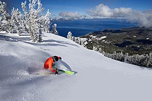 Heavenly Skier