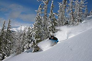 Mt Bachelor Skier