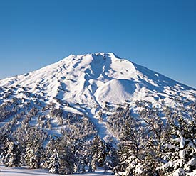 Mt Bachelor Aerial View