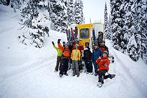 Revelstoke Recreation Winter Cat Skiing