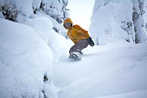 Revelstoke Recreation Winter Snowboarding