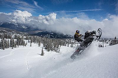 Revelstoke Recreation Winter Snowmobiling