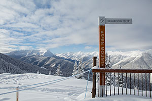 Aspen Mountain Sign