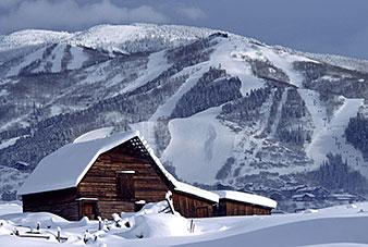 Iconic Steamboat Barn Photo