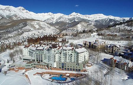 Peaks Resort Aerial