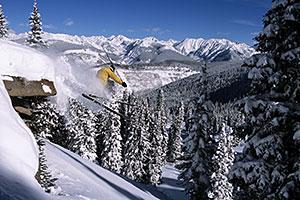 Radical Vail Skier