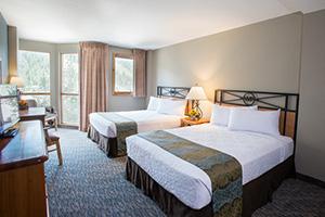 Winter Park Mountain Lodge 2 Queen Bedroom