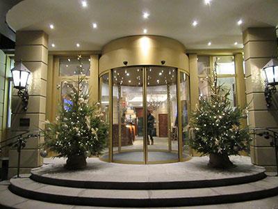 Park Hotel Entrance