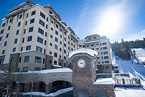 Summit Lodge Clock