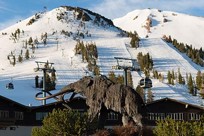 Mammoth Mountain Statue