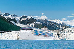 Island Princess in College Fjord