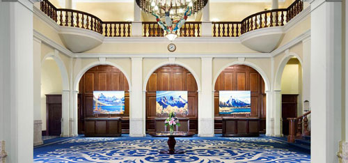 Lake Louise Foyer