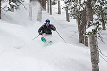 Deer Valley Skier