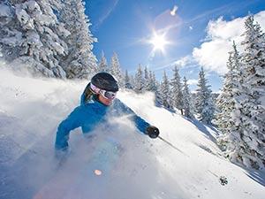Girl downhill skier photo by Jack Affleck
