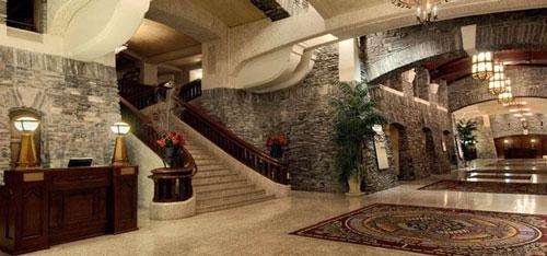 Banff Hotel Lobby