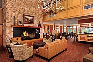 Keystone Lobby with Fireplace