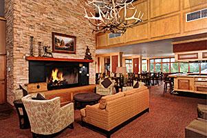 Keystone Lobby with Fireplace